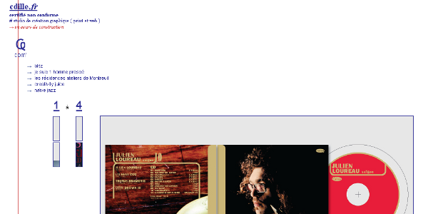 Capture d'écran cdille.fr