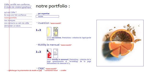 Site web cdille.fr version 2