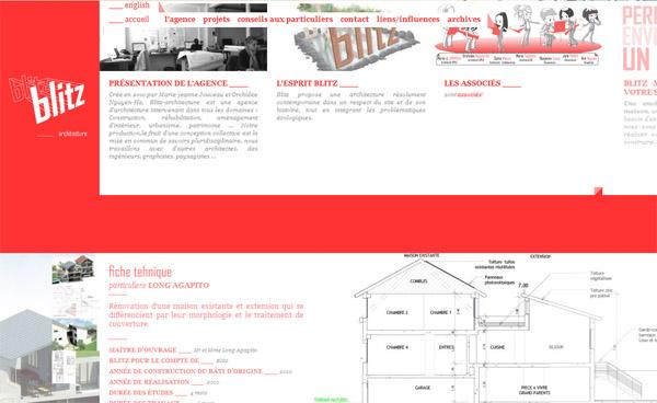 Site web Blitz Architecture